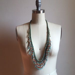 Tribal Festival Beaded Necklace
